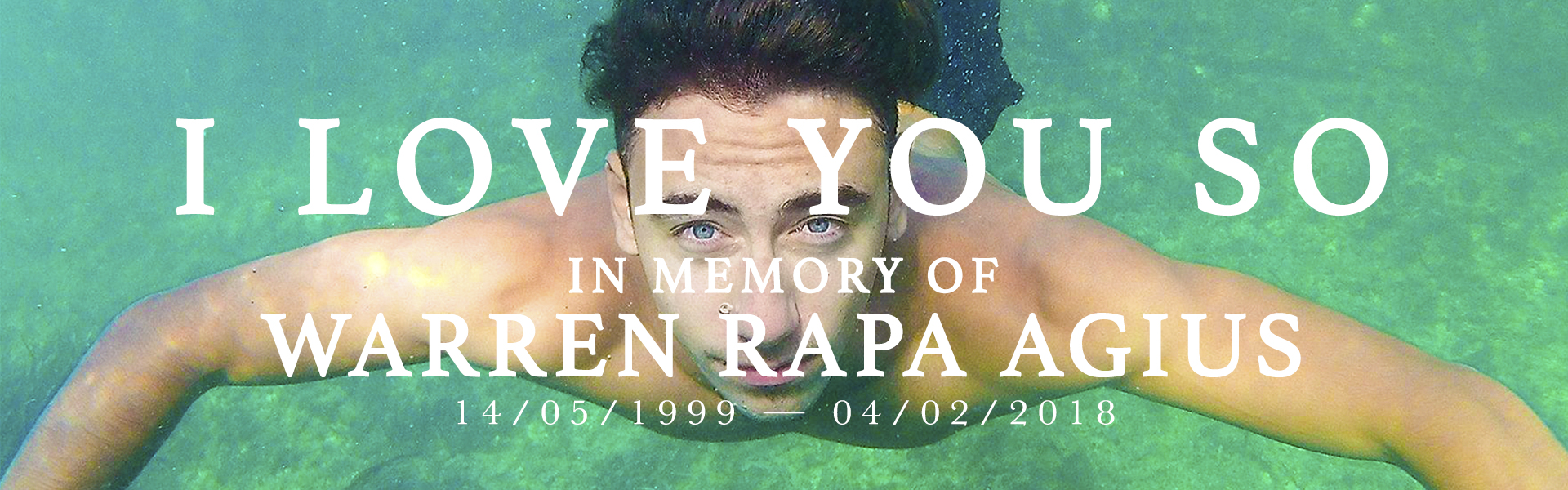 I Love You So | In Memory of Warren Pop