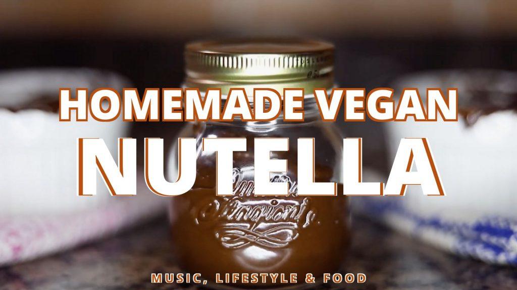 Homemade Vegan Nutella (GF) Easy Recipe   Music, Lifestyle & Food