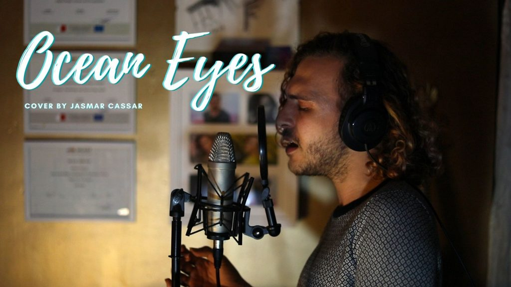 Ocean Eyes  (Cover by Jasmar Cassar) | Music, Lifestyle & Food
